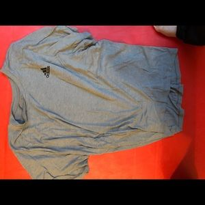 Adidas Freelift grey t shirt
